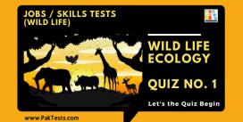 Wild Life (Wild Life Ecology) – Quiz 1
