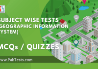 Subject Wise Quizzes (Geographic Information System)