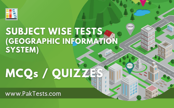 subject wise tests geographic information system