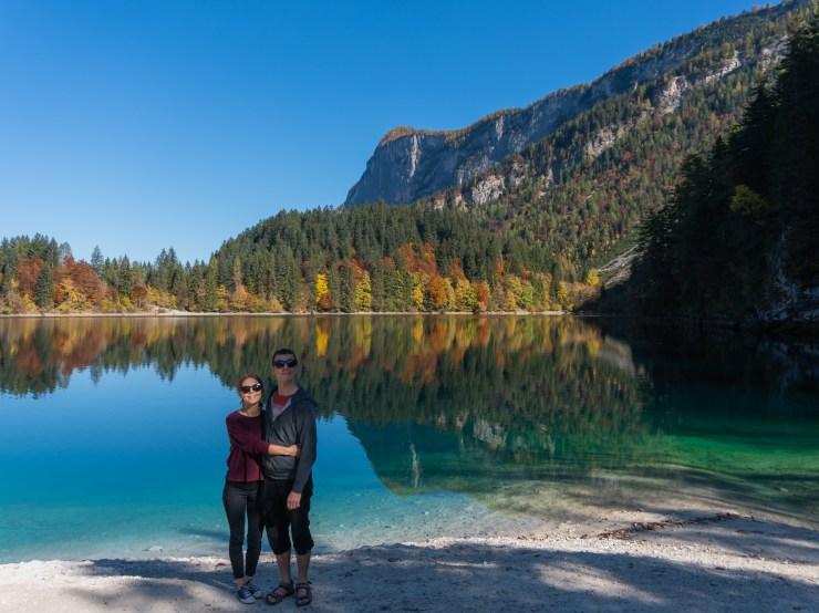 Heta ja Matti järvellä