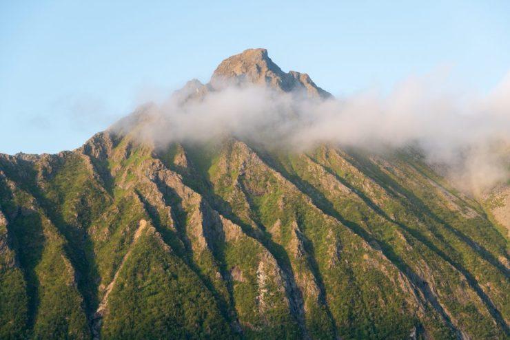 Vuoria Lofooteilla riittää