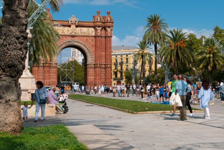 Arc de Triomf eli Barcelonan riemukaari