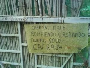 Cartel Made In Spain