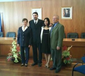 NArtha, Jose y sus padre en Piera