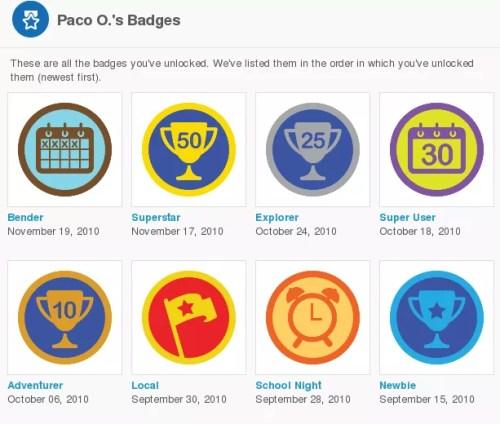 Mis badges
