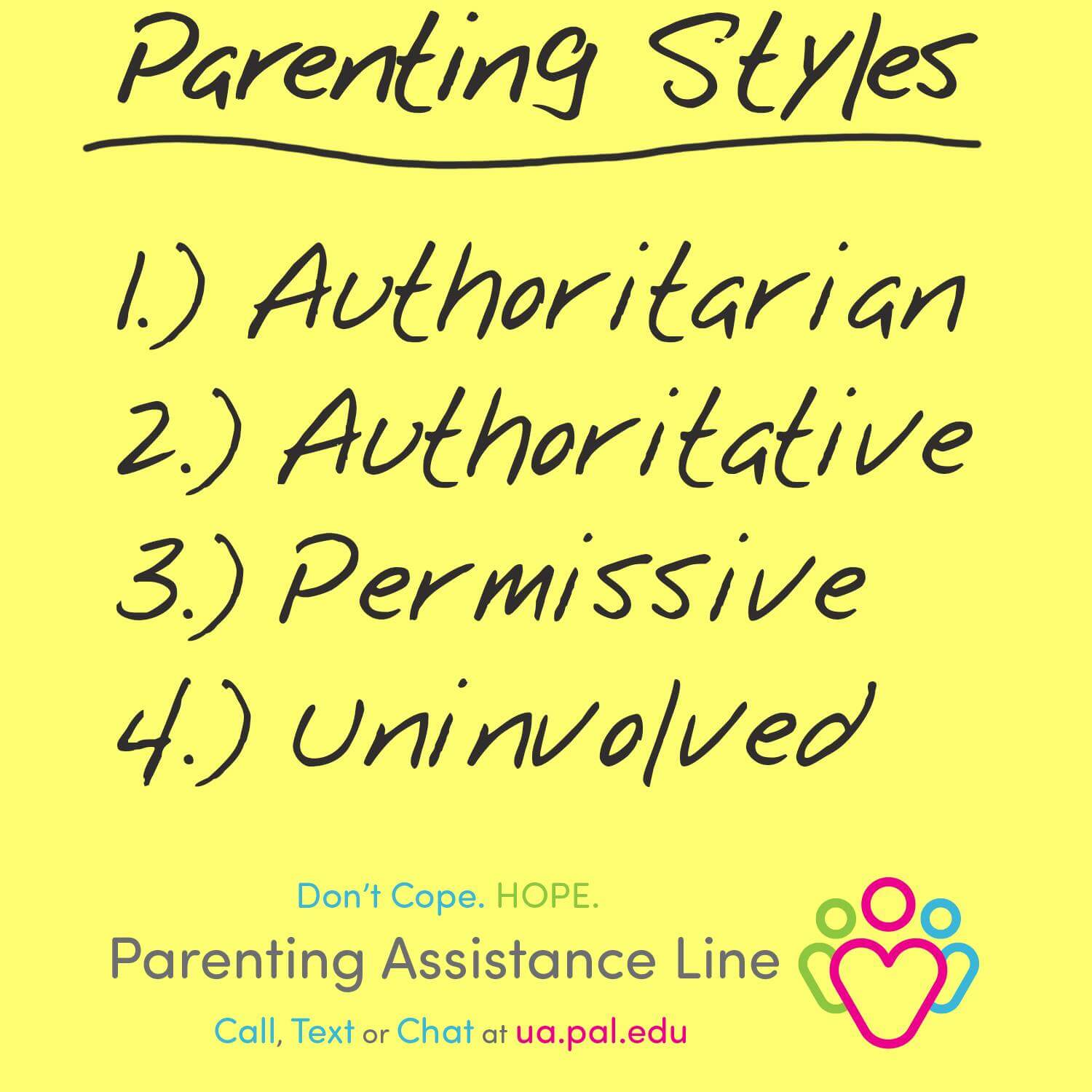 When Parenting Styles Are Different Pal The Parents