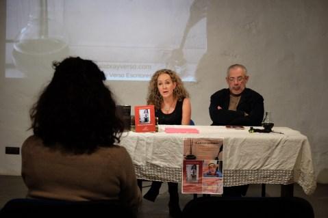 Angela Molina presenta al poeta Juan Francisco González-Díaz