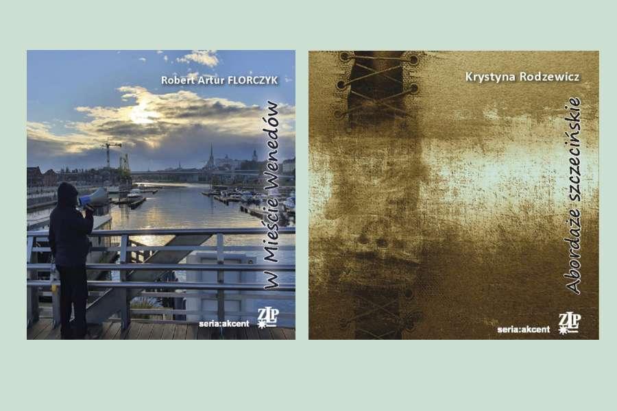 okładki dwóch tomików poezji