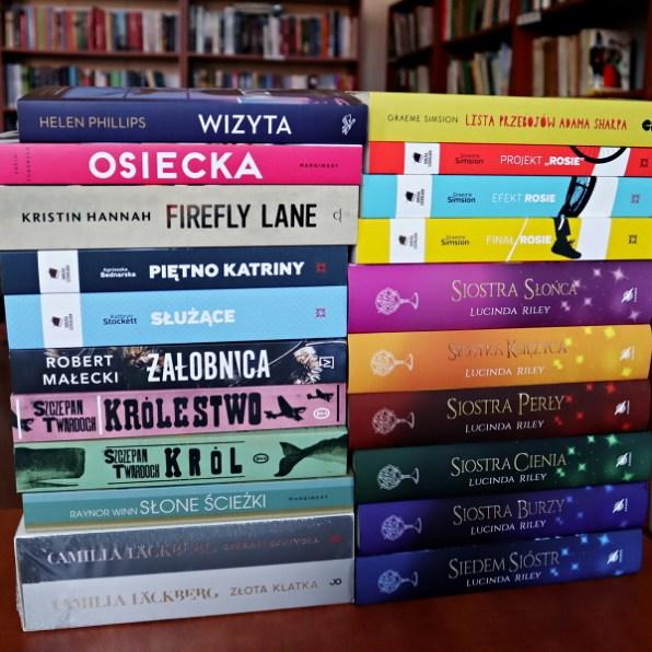 książki zakupone dobiblioteki