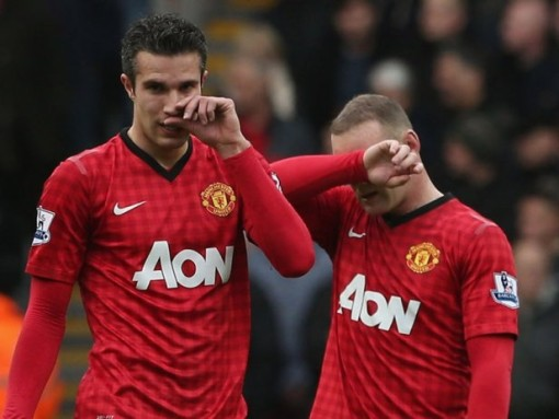 Captain See-No-Evil and his chum Smells-No-Evil ruminate on another fine season for Man U