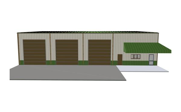 Construction 5 - Front 3D