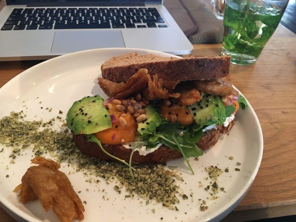 Vegan restaurant Meatless district Amsterdam