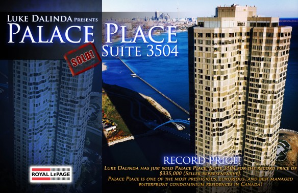 Palace Place 1 Palace Pier Court Suite 3504 Sold by Luke Dalinda