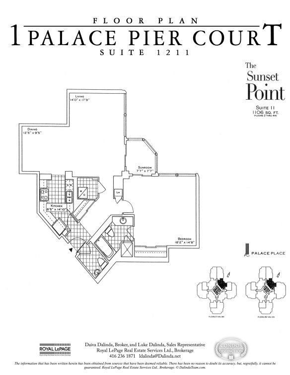 Palace Place 1 Palace Pier Court Suite 1211 Floor Plan