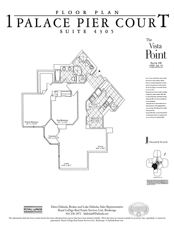 Palace Place 4305 Floor Plan