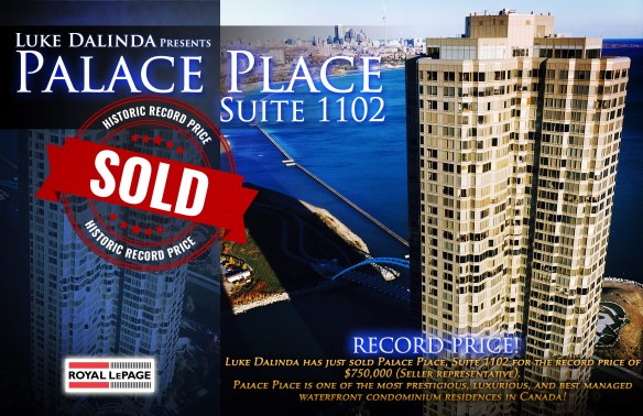 Palace Place 1 Palace Pier Court Suite 3805 Sold by Luke Dalinda