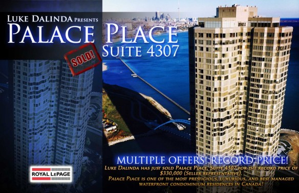 palace place SoldCard4307