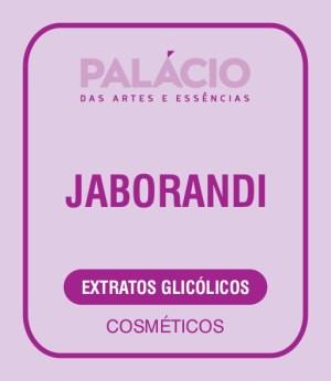 Extrato Glicólico Jaborandi
