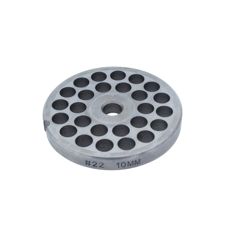 Paladin Equipment's #22 meat grinder includes a 10mm grinding plate.