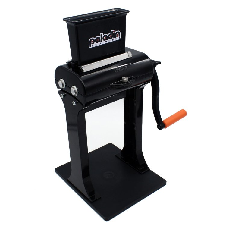 Paladin Equipment's 2-in-1 meat tenderizer / jerky slicer is perfect for processing game and making jerky.