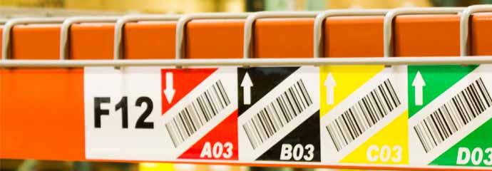 h warehouse rack labels paladinid llc