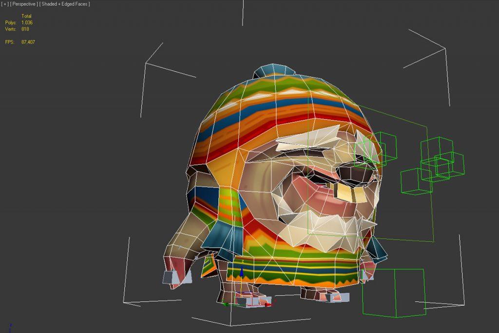 guaka-the-mole-3d-rig-and-model