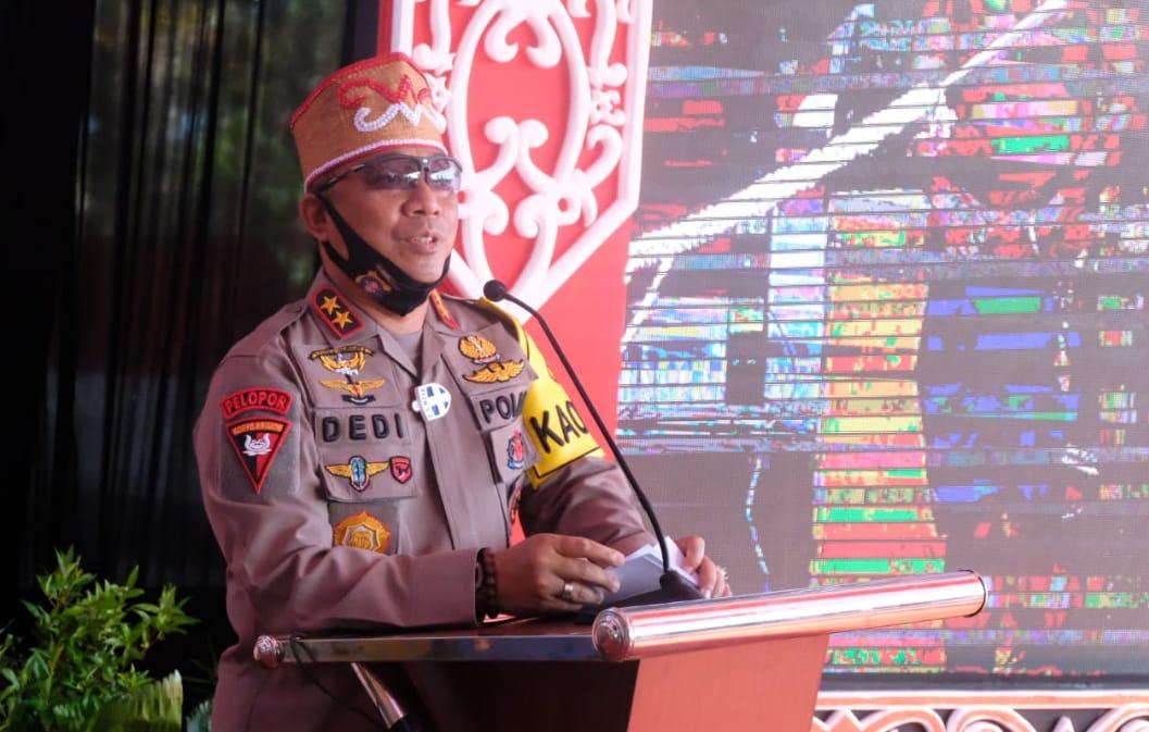 Kapolda Kalteng Resmikan Renovasi Balai Keramat Raja