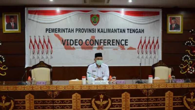 """Bersama Atasi Karhutla"" Ini Kata Sekda Kalteng Mewakili Gubernur Dalam Virtual Telabang Talk."