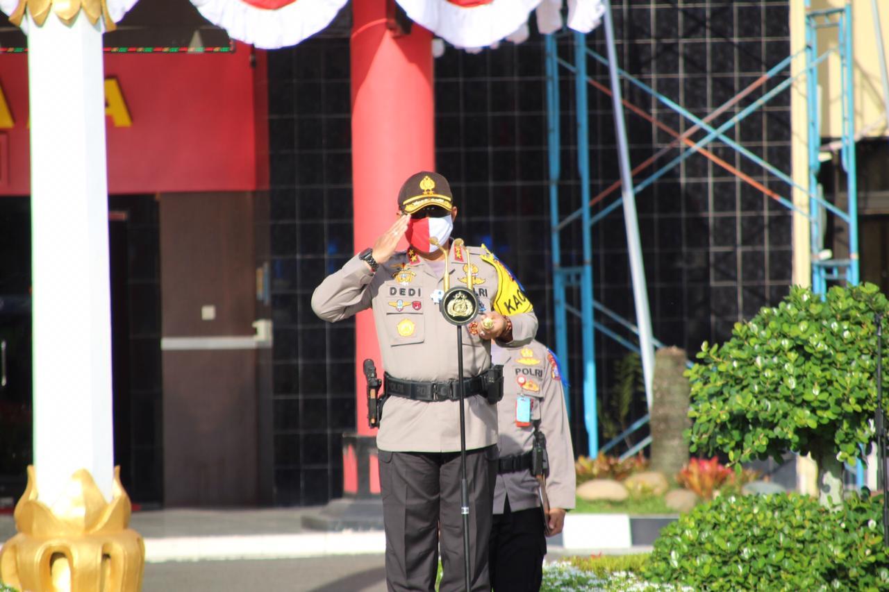 Tekan Angka Kecelakaan Lalu Lintas, Polda Kalteng Gelar Operasi Patuh Telabang 2020