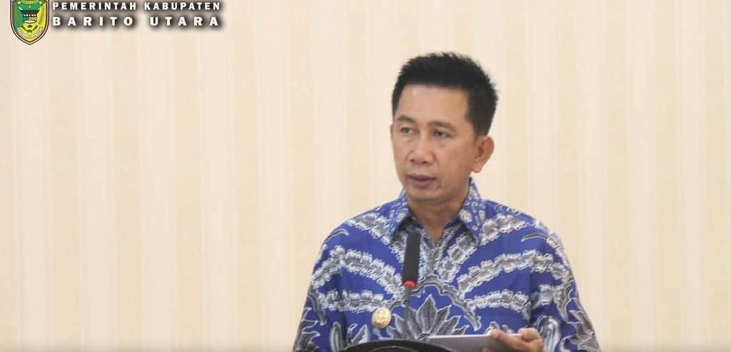 Bupati Barut Buka Sidang Panitia Pertimbangan Landreform Kab. Barito Utara Tahun 2020
