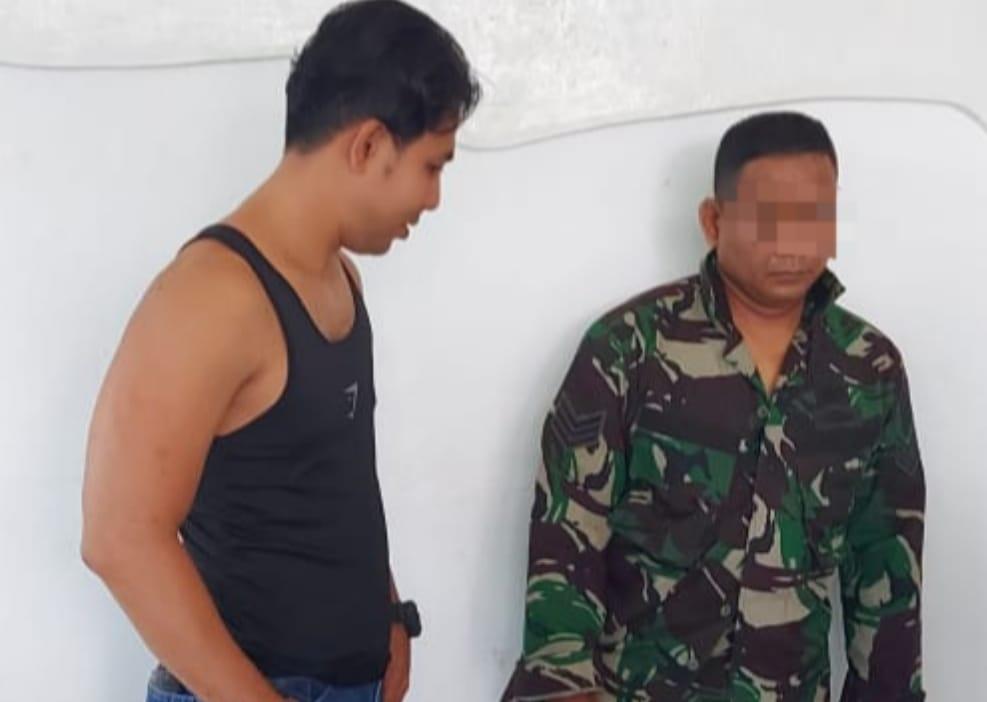 Aduh! Janda Tertipu Prapal TNI, Ditangkap Kodim 1012 Buntok