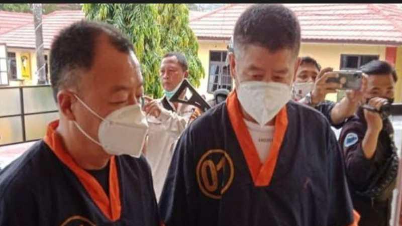 Dua WNA China Ditangkap Polres Kotawaringin Barat. Kenapa?