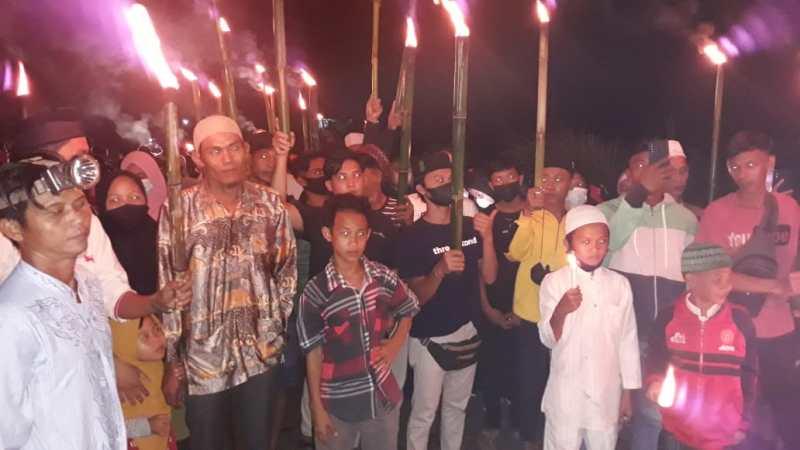Amankan Proses Acara Tolak Bala di Wilayah Binaan Babinsa 1016-01.