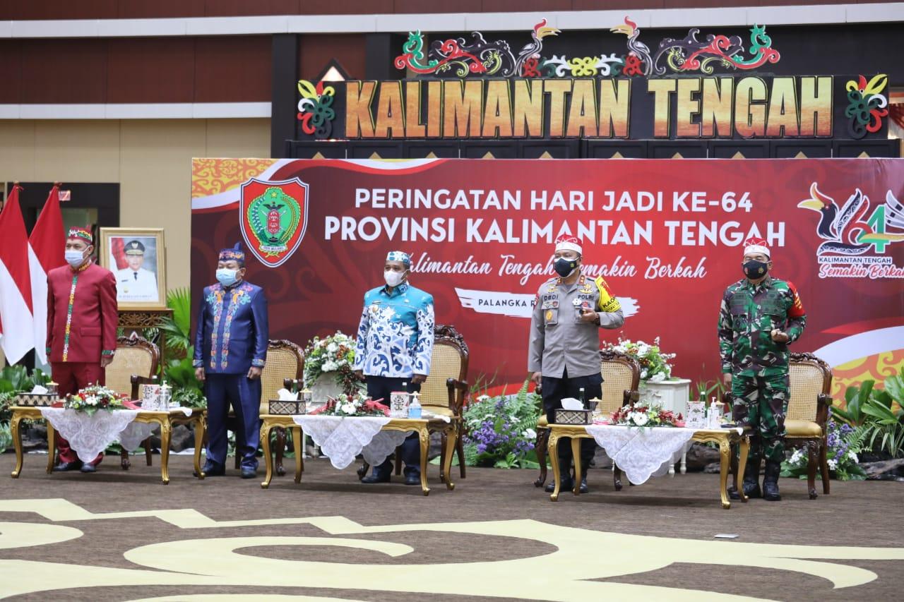 Inilah : Sejarah Terbentuknya Provinsi Kalimantan Tengah, Borneo.