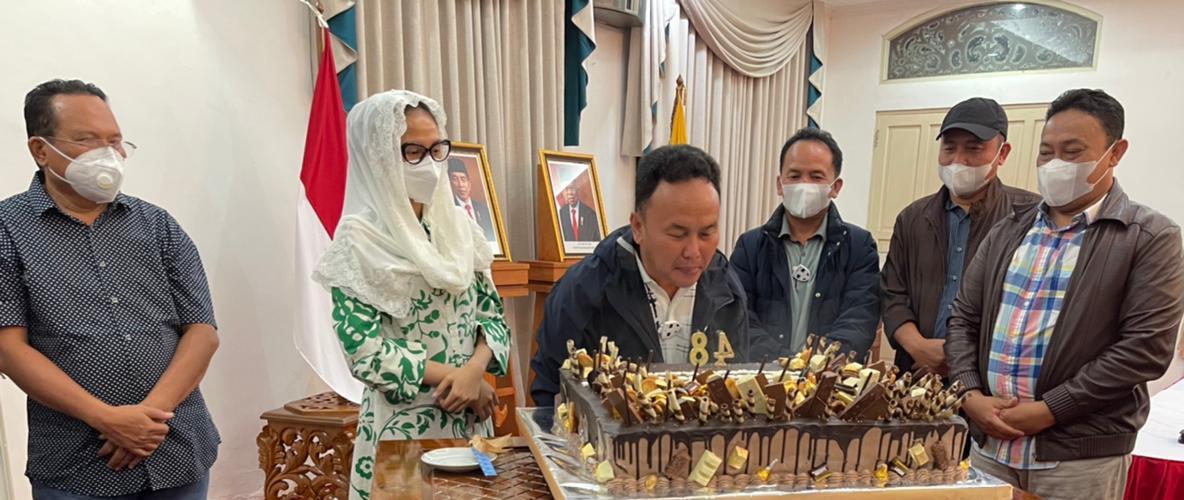 48 Tahun Usia H.Sugianto Sabran Gubernur Kalteng, Berkah