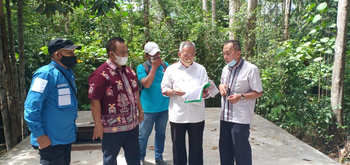 Survei Lokasi Pabrik Kemasan Air Minum Tangkiling, Ini Kata M.Hasanuddin Noor