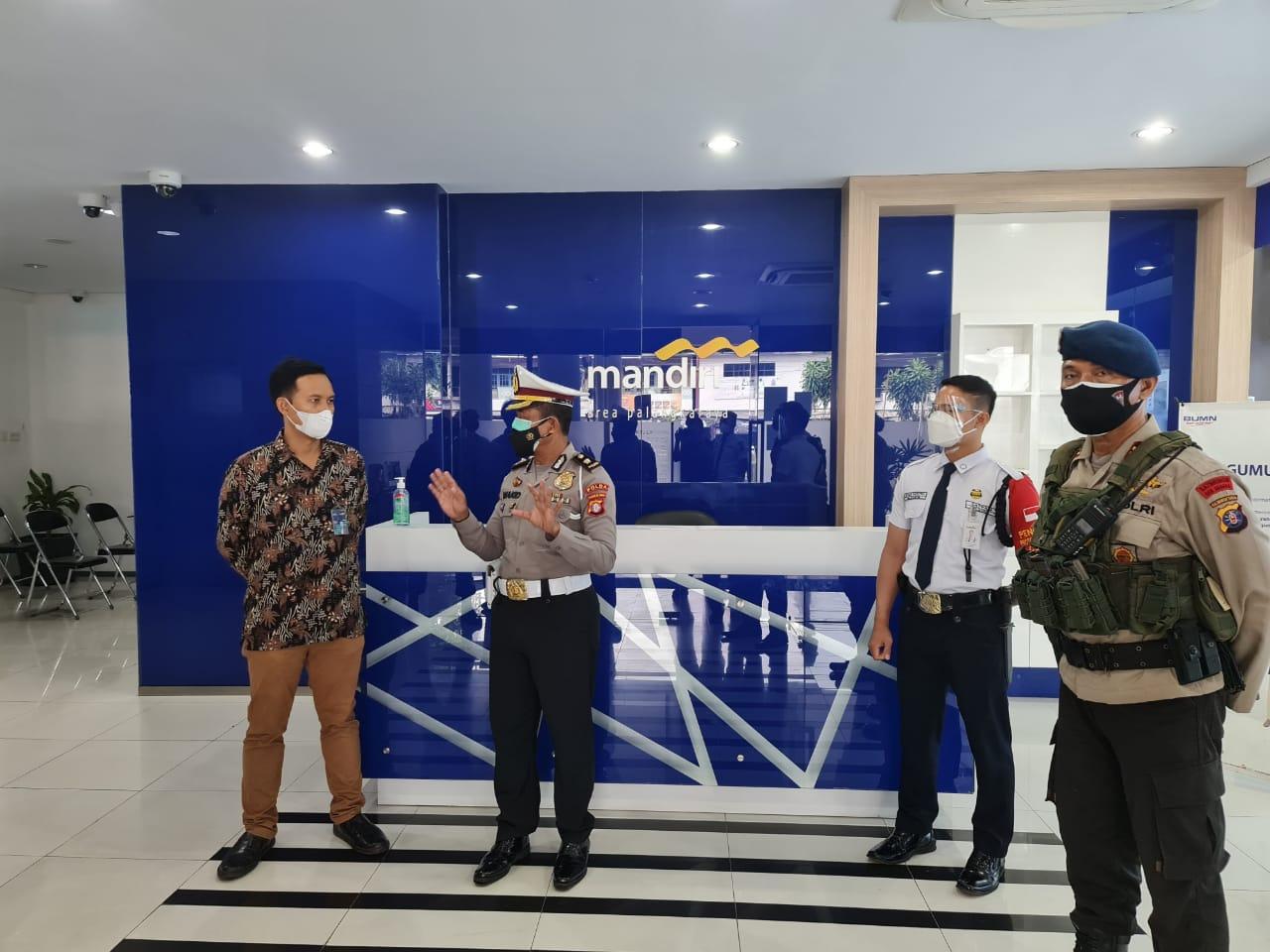 Polresta Palangka Raya dan Polda Kalteng Awasi Penerapan Prokes di Objek Vital