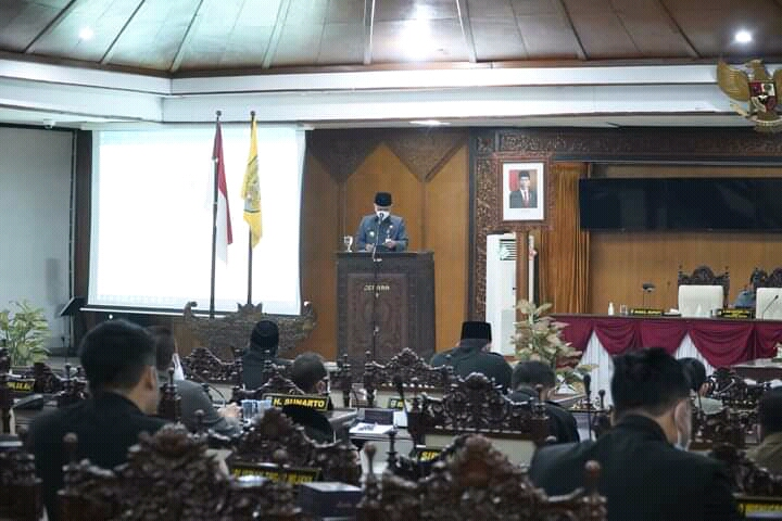 DPRD Jepara Setujui LPJP APBD 2020,  Dengan 23 Catatan Banggar
