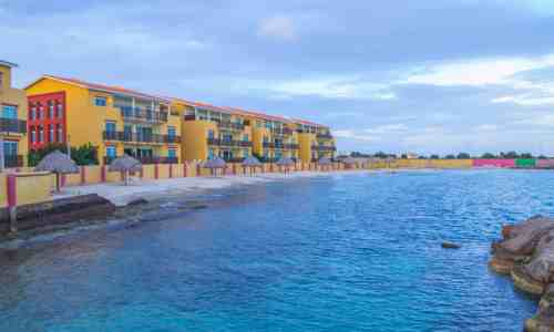 Beach View from Palapa Beach Resort