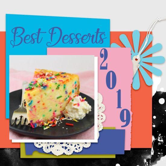 Best Dessert Recipes 2019
