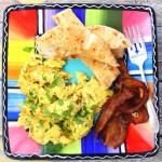Akuri Scrambled Eggs #BrunchWeek