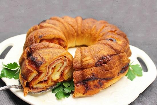 Stromboli Bundt Cake