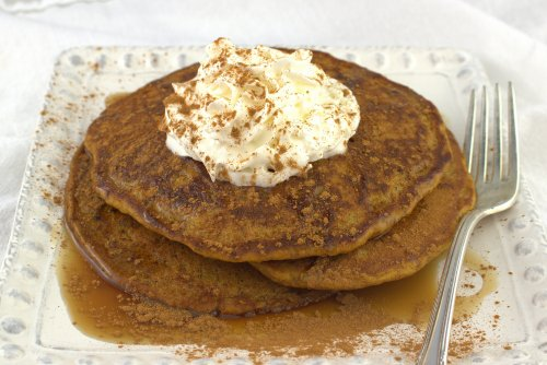 Powerhouse Pumpkin Pancakes