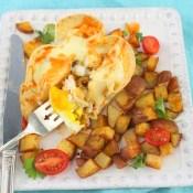 Huevos Gratinados