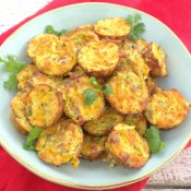 Zucchini Tots with Jalapeno, Cheddar and Bacon