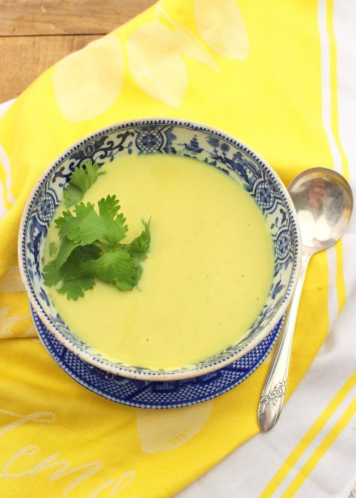Coconut and Corn Soup
