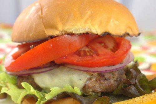 Hatch Green Chili Burgers
