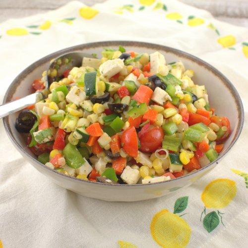 Summertime Fresh Corn Salad