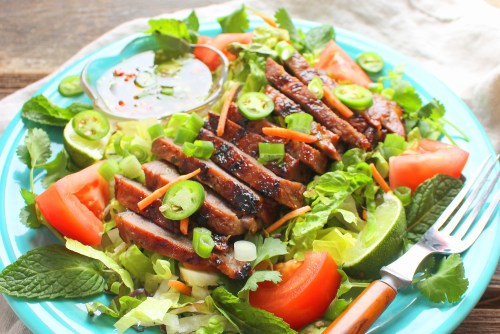 Vietnamese Grilled Steak Salad
