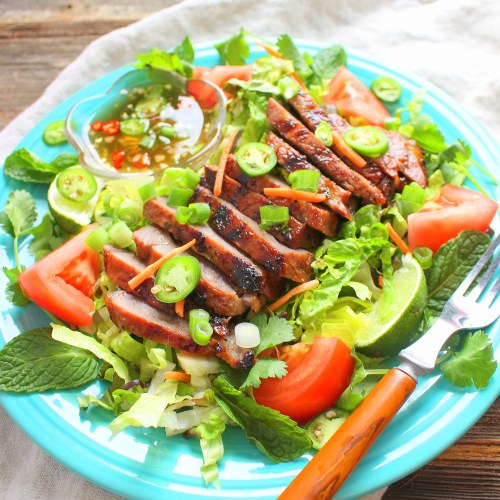Vietnamese Grilled Steak Salad